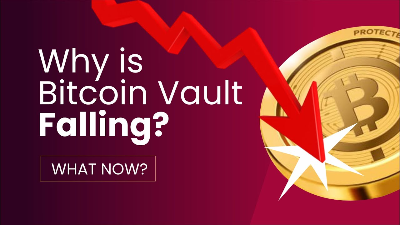 Download Why Bitcoin Vault BTCV Price is Dropping - Why The Crash  - What's Next?