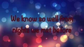 Gilbert Montagné - Just For Tonight (with Lyrics)