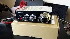 Mini Car Amplifier, BlitzWolf 20W 2-Channel 12V Hi-Fi Audio Stereo