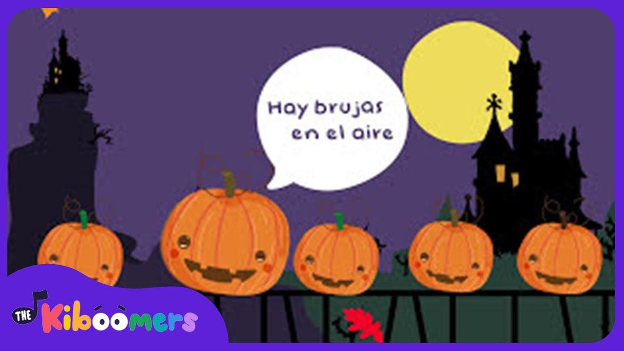 Cinco calabazas halloween cancion musica infantil - Calabazas halloween originales para ninos ...