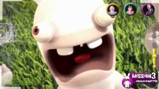 E3 2013: Rabbids Invasion - The Interactive TV Show | Gameplay Trailer [EN] | FULL HD