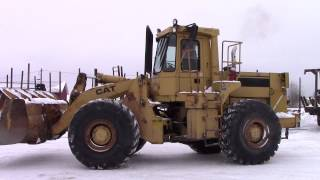 1988 CAT 966E Wheel Loader