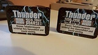 Thunder Extra Mento Coarse Grind und Fine Grind | Naja
