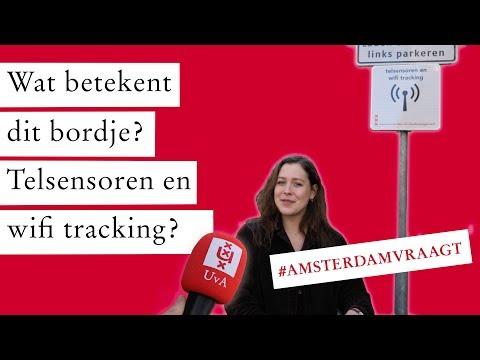 AMSTERDAM VRAAGT #5 | Telsensoren & wifi tracking, wat betekent dit bordje?
