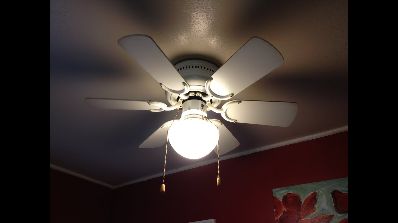 How to Fix a Noisy Ceiling Fan - YouTube