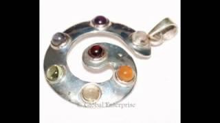 Chakra Silver Jewellery | 925 Silver Pendants | Silver Chakra Pendants- www.globalenterprise.net