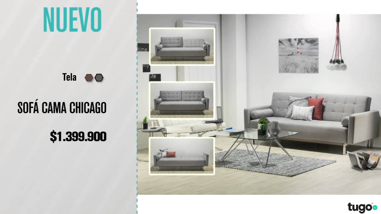 Sofa Cama Tugo Medellin Under Storage Trays Chicago Youtube Colombia