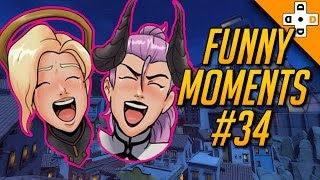 Overwatch Funny Moments #34 - Highlights Montage