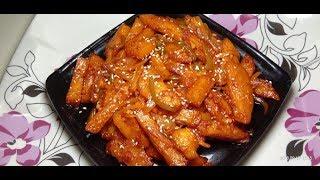 chilli potato [delicious nd tasty recipe] itni easy aur tasty recipe jise kha ke maza aa jaye]