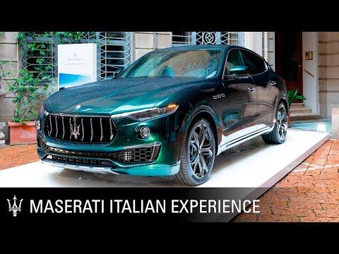 Maserati Crafting Italian Experiences. Milan Design Week
