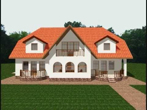 Proiect casa tina modele case cu mansarda youtube for Arhitectura case cu mansarda