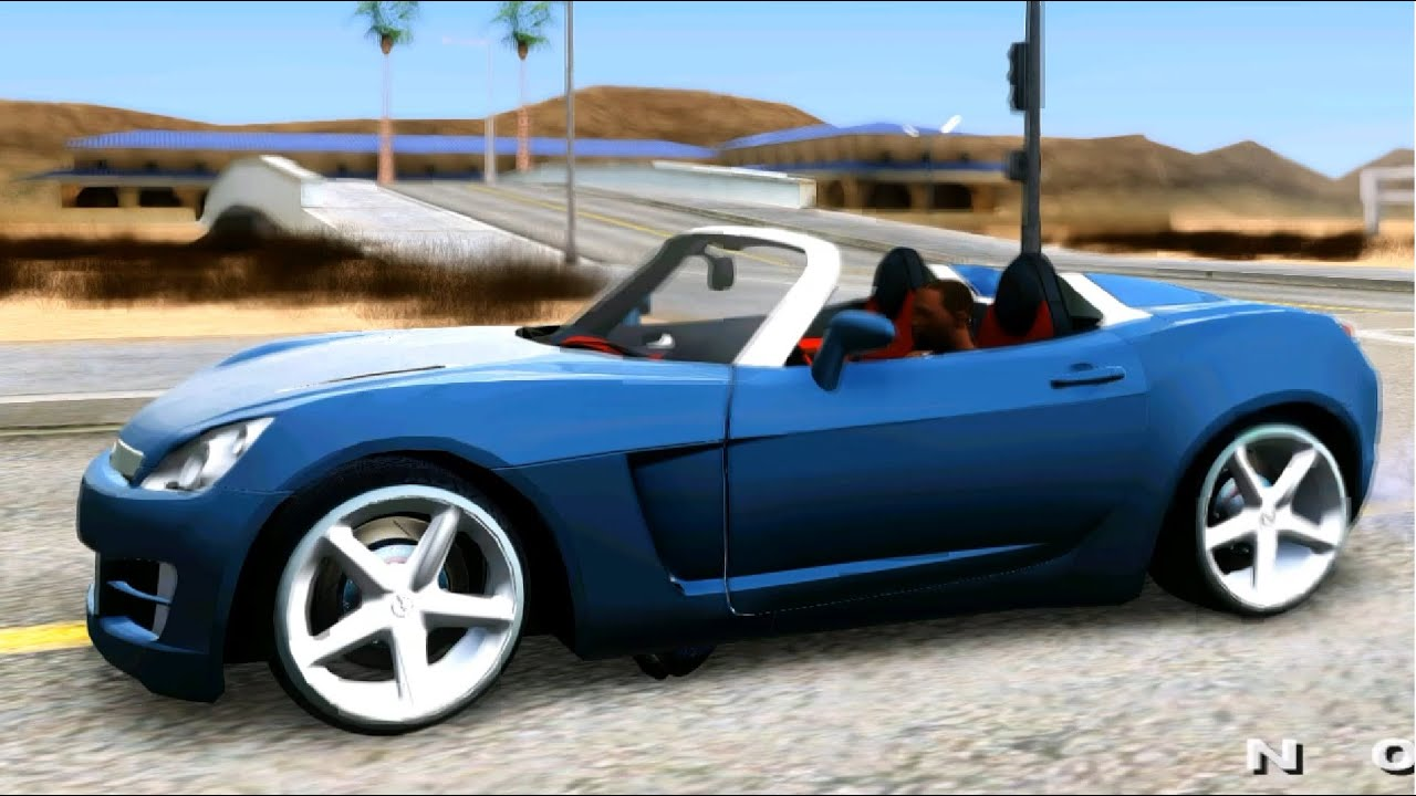 GTA San Andreas - 2007 Opel GT EnRoMovies - YouTube
