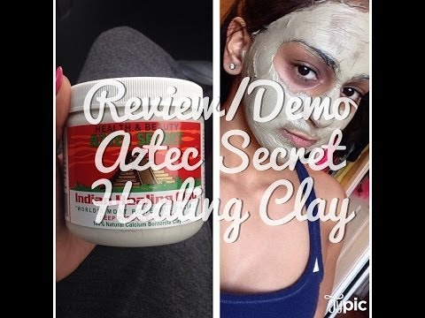 REVIEW/DEMO: Aztec Secret Indian Healing Clay