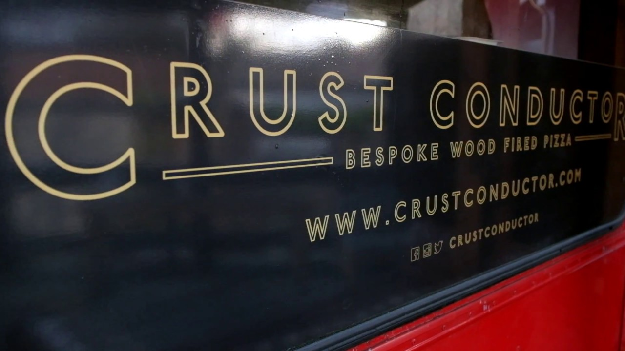 Iris Cooks Pizza on the Crust Conductor bus in Peckham - YouTube