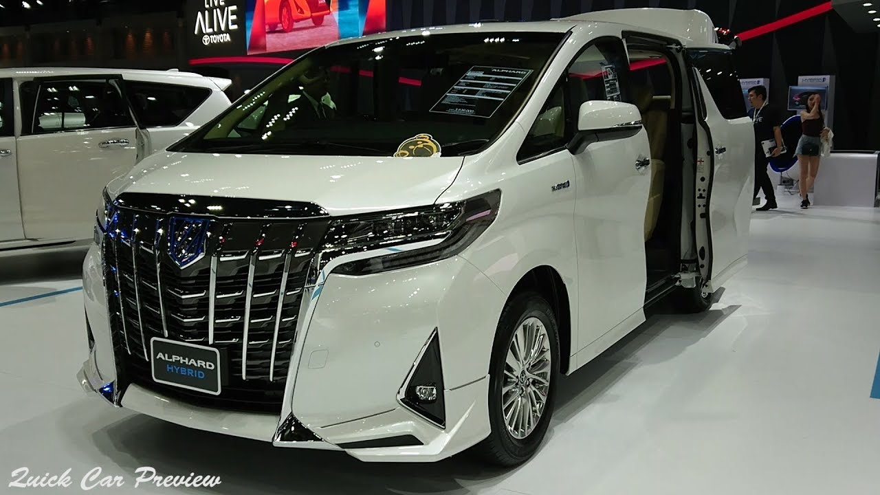 2020 Toyota Alphard 2.5 Hybrid E-Four | Quick Preview ...
