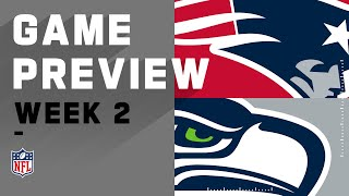 New England Patriots vs Seattle Seahawks Week 2 NFL Game Preview