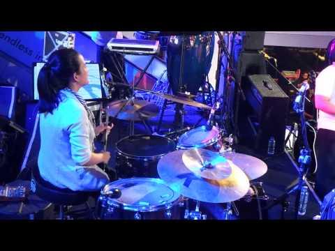 Gita Gutawa - Bukan Permainan + Alsa Drum Solo @ Jazzy Nite