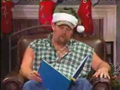 Twas the Night Before Christmas Larry - The Cable Guy Style - YouTube