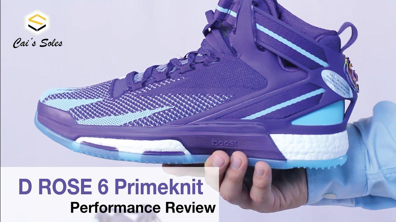 8a57720fd7c6 sale performance review d rose 6 primeknit dcec7 54859