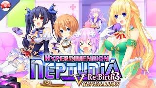Hyperdimension Neptunia Re Birth 3 V Generation Gameplay PC HD [60FPS/1080p]