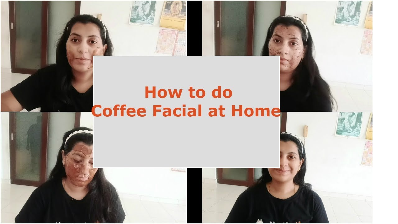 How to do coffee facial at home || Skin brightening, glowing facial || Telugu Vlogs in Malaysia