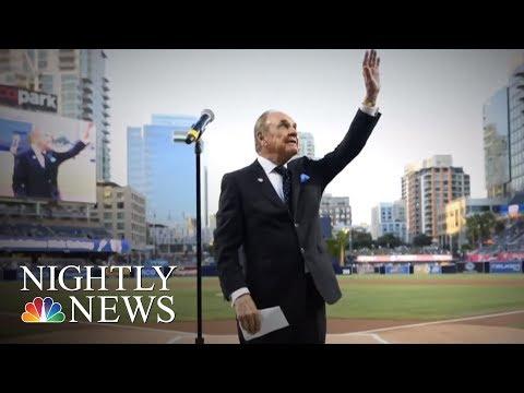 Sports Broadcasting Legend Dick Enberg Dies At 82 | NBC Nightly News