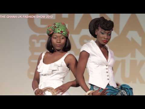 GHANA UK FASHION SHOW 2013