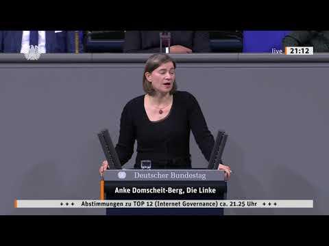 Anke Domscheit-Berg, DIE LINKE: Für die Freiheit des Internets, gegen digitale Monopole