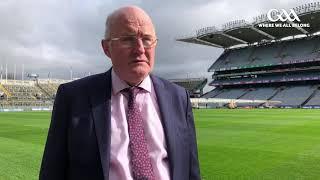 Uachtarán CLG, John Horan, talks to GAA.ie.