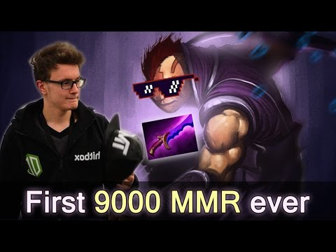 First 9000 MMR in Dota by Miracle Anti-Mage