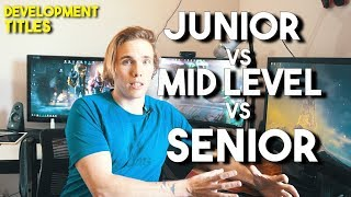 Junior vs Mid vs Senior level developers (THE DIFFERENCES)
