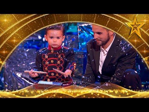 ¡GANADOR! HUGO interpreta un VILLANCICO con su TAMBOR   Gran Final   Got Talent España 5 (2019)