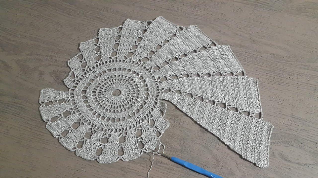 Sehpa Ortusu Yapimi Part 2 Yeni Tigisi Dantel Orgu Crochet