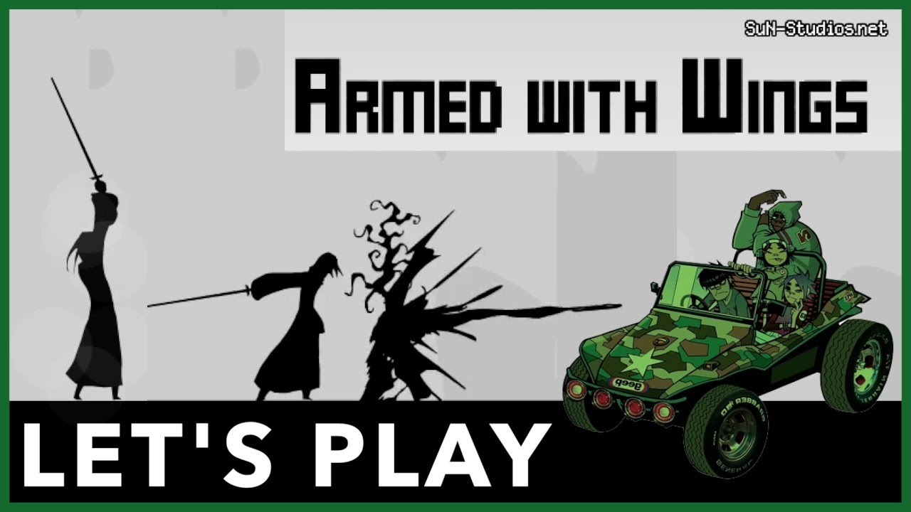Armed with Wings & Gorillaz – Let's Play Flash Games