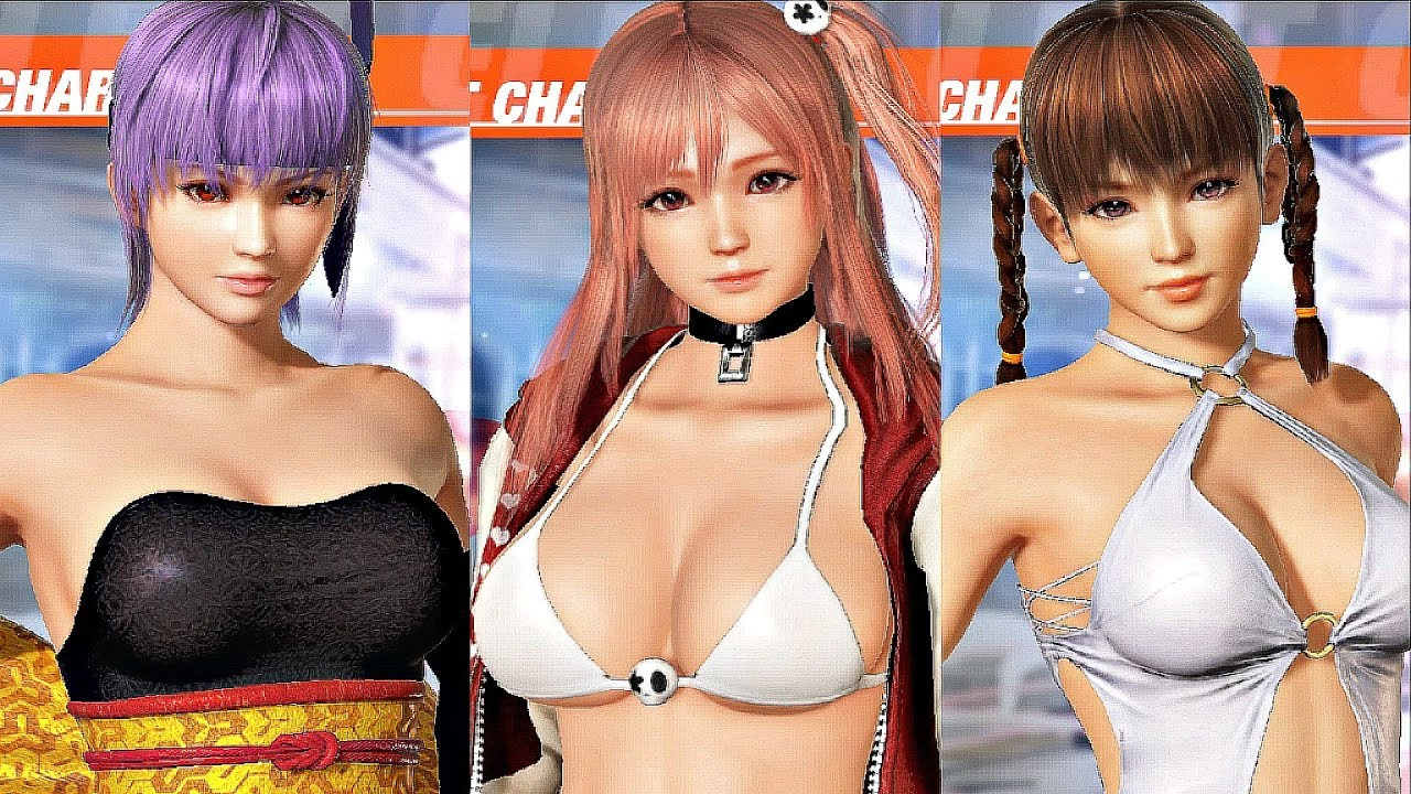 Dead or Alive 6 - All 24 Characters & Costumes (DOA 6 All Outfits)