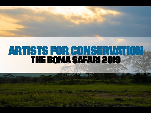 Artists For Conservation Boma Safari 2019