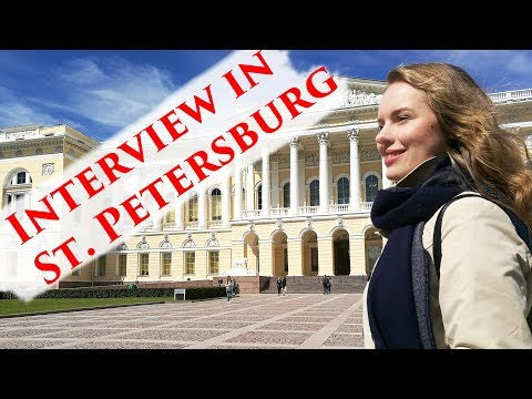 Interview with Tatyana Ryzhkova in St.Petersburg