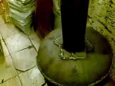 Печь Бубафоня на дровах
