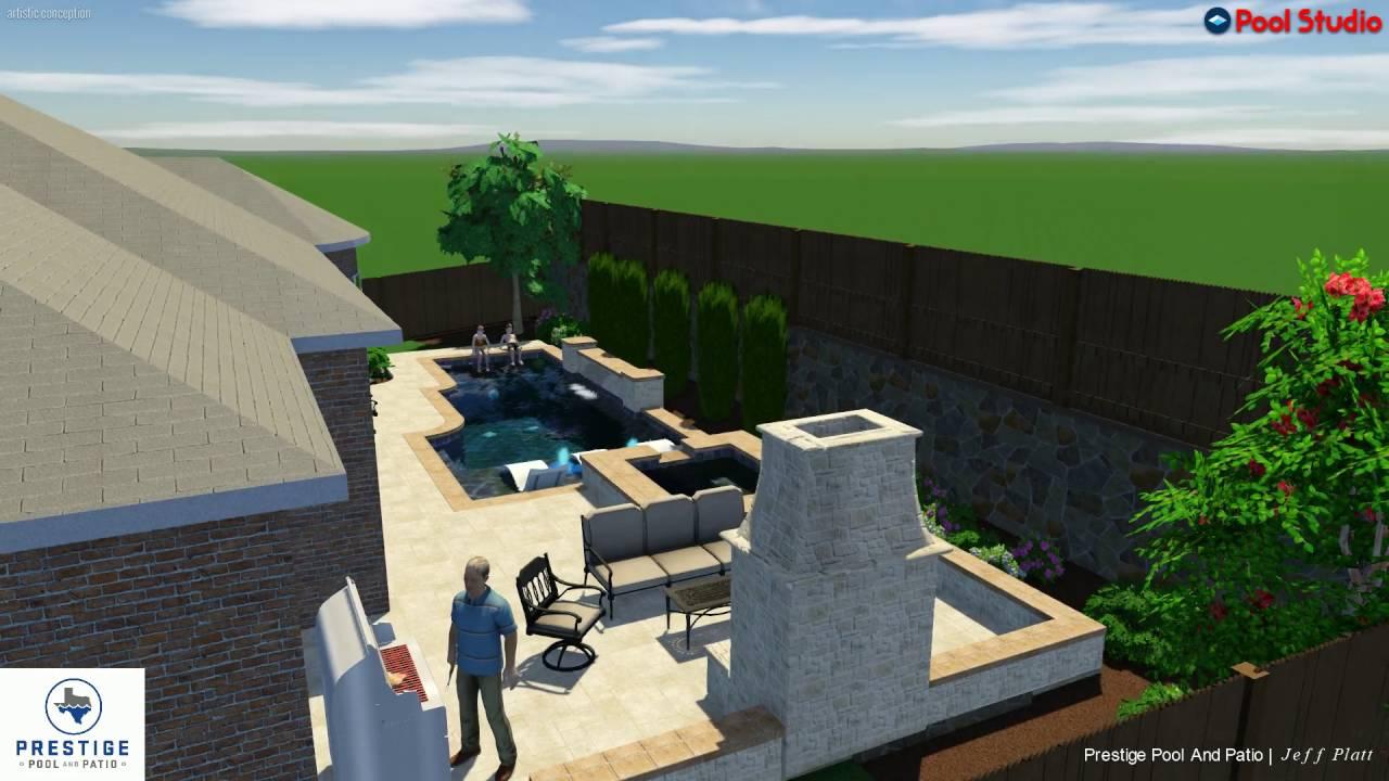 Robin Residence. Prestige Pool And Patio
