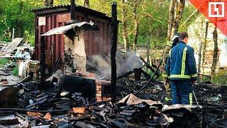 Трое детей и их мать погибли в пожаре