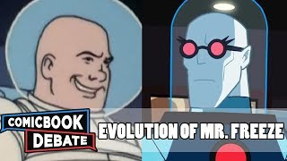 Evolution of Mr. Freeze in Cartoons in 11 Minutes (2018)