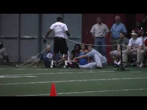 Glen Coffee At Pro Day