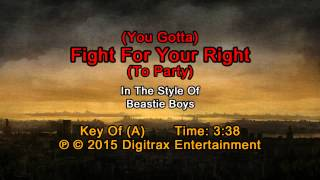 Beastie Boys - (You Gotta) Fight For Your Right (To Party) (Backing Track)