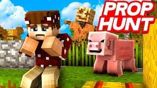 LOGO HAT MICH GEPRANKT! | Minecraft Prop Hunt