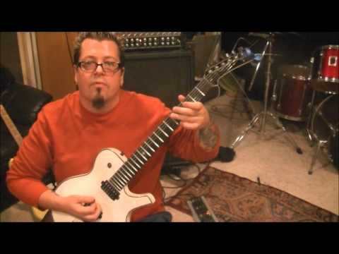How to play Crawl by Damageplan on guitar by Mike Gross