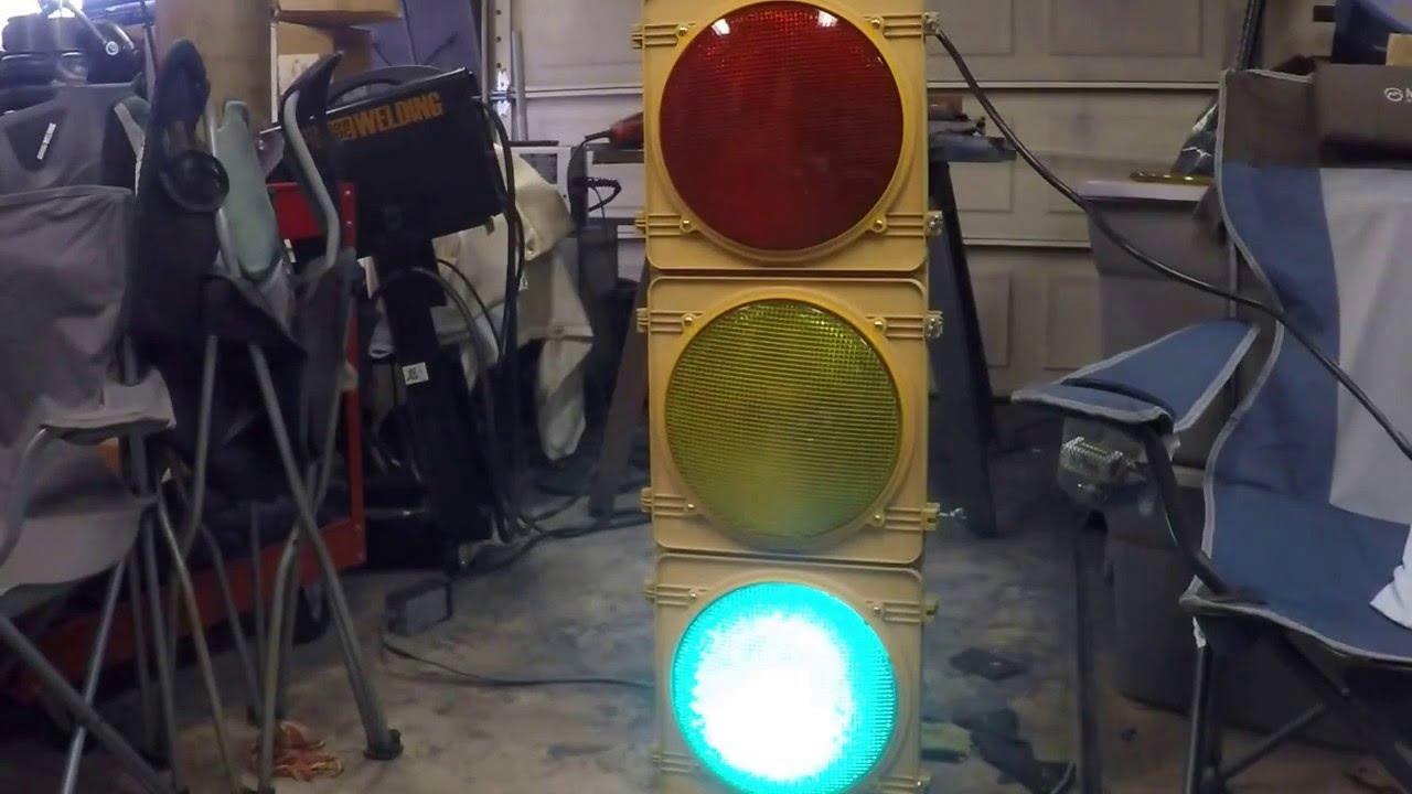 small resolution of rs10 traffic light signal control sequencer install operation and review youtube