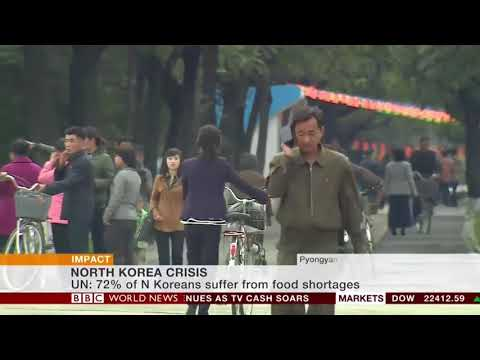 BBC World News Impact - North Korea aid