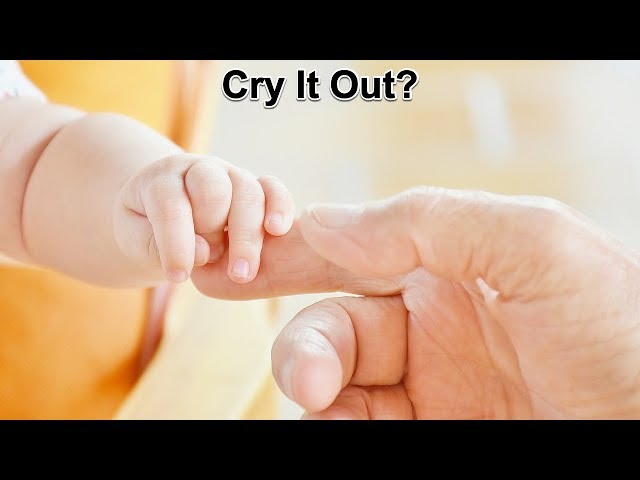 Should you let a baby cry it out? Rabbi Kelemen
