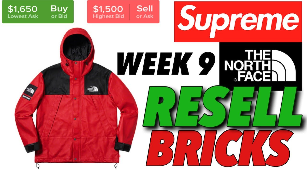 e0dc5746 Resell or Bricks? Supreme F/W '18 Week 9 on Stockx - YouTube