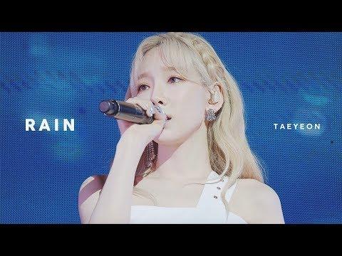 190525  태연 -  RAIN @ 포스코 콘서트 MoodFull [4K 60p]